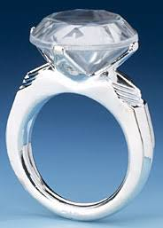 ring cake topper large diamond ring the largest selection of cake toppers