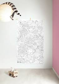 giant colouring picture from kek amsterdam babyccino kids daily