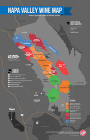 Map Of Italy Wine Regions by A Simple Guide To Napa Wine Map Wine Folly