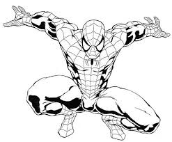spiderman coloring pages coloring pages