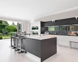 mirror backsplash in kitchen modern and cool mirror backsplash for kitchen homesfeed