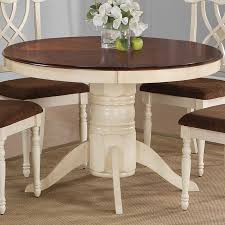 round pedestal dining table with leaf table two tone painted oval google search dining pinterest