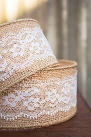 burlap and lace ribbon 170 best ribbons images on burlap wreath supplies and