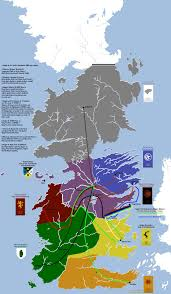 Map Of Westeros World by 27 Maps That Will Change How You Think About U201cgame Of Thrones U201d