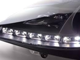 mercedes headlights headlights mercedes slk r171 04 11 black dbrtuning