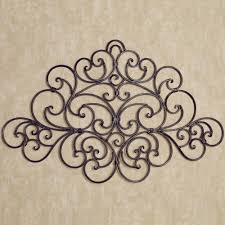 home interior wall hangings camilio scroll wrought iron wall grille
