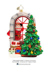 decor christopher radko ornaments with radko tree and