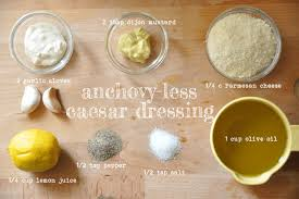 caesar dressing without anchovies