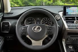 lexus nx 2017 2017 lexus nx 200t steering wheel motor trend