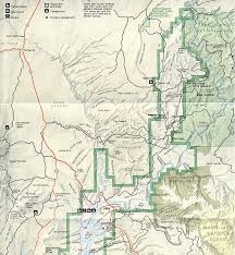 map of southern utah map of robers roost trip area