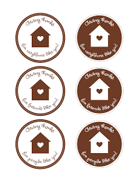 free giving thanks printable food tags and labels from