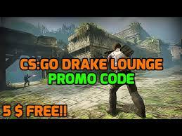 cs go drake lounge promo code 5 free new gambling site