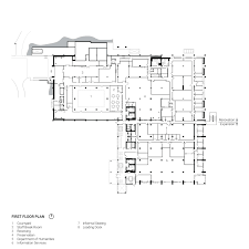 Loading Dock Floor Plan by Mchenry Library Expansion And Renovation Bora