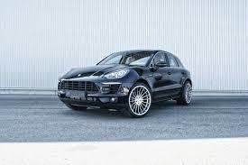 Porsche Macan Black Wheels - hamann shows five alloy wheels for new porsche macan
