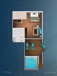 Floor Plans For Bungalows Overwater Bungalow Floor Plan Google Search Home Floorplans