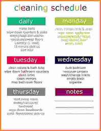 cleaning report template weekly house cleaning schedule printable cleaning schedule weekly