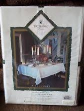 waterford table linens damascus waterford oblong tablecloths ebay