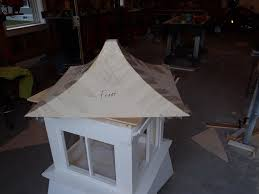 Build Your Own Cupola My Lighted Copper Roof Cupola Build And Install Tacoma World