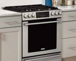 kitchen gas compare electrolux induction dual fuel electric gas ranges