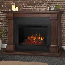real flame callaway grand 63 inch electric fireplace with mantel