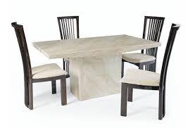 white marble dining table set luxury kitchen concept in respect of white marble dining table