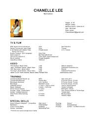 how to write acting resume job resume creator first job resume sample how to build a resume acting resume builder acting resume builder actingresume page chanelle lee template headshot format beginner actor