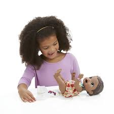 african american amazon com baby alive super snacks snackin lily african