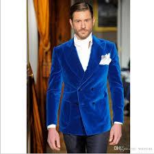 mens suits for weddings royal blue velvet mens suits groom tuxedos groomsmen peaked lapel