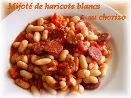 cuisiner haricots blancs mijoté de haricots blancs au chorizo notes gourmand