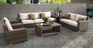 outdoor wicker patio sets outdoorlivingdecor