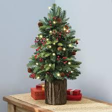Large Ceramic Christmas Tree Christmas Tabletop Christmas Tree Pre Decorated Trees Artificial