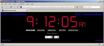 nasa copied clock s countdown timer