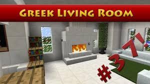 minecraft tutorial 37 u2013 greek house u2013 how to build a living room