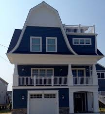 dark wood siding exterior beach style with asap blinds new york