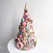 unicorn croquembouche wedding cake popsugar food