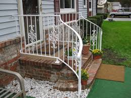 outdoor stair railing kits kimberly porch and garden wrought
