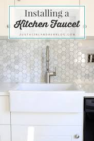 Moen Kitchen Faucet Installation Moen Align The Faucet I Never Knew I Always Wanted Just A