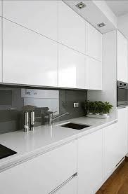gloss white kitchen cabinets modern gloss white kitchen cabinets
