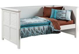 belmar white 3 pc twin daybed beds white