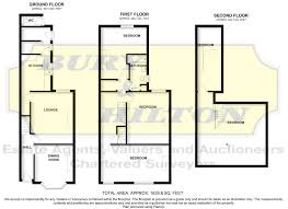 Southbank Grand Floor Plans by 5 Bed Town House For Sale In Southbank Street Leek St13