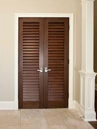 Doors Closet Unique And Modern Designed Louvered Closet Doors All Design
