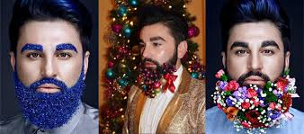beard ornaments beard baubles decorating for the holidays beauty launchpad
