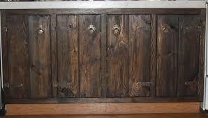 diy rustic cabinet doors