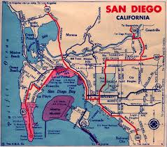 Naval Base San Diego Map by California City Maps At Americanroads Com