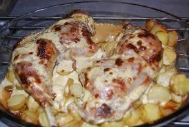 cuisine cuisse de dinde cuisse de dinde à la moutarde recette recette et déco de véro