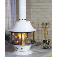 malm spin a fire wood burning or gas matte black or porcelain