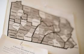 Map Of Pennsylvania Court To Seek New Map In Pennsylvania Gerrymandering Case Pbs