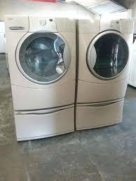 Kenmore Washing Machine Pedestal Lot 2266 Kenmore Elite Washer 600 Series Dryer Kenmore Elite He3