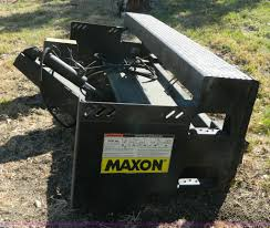 maxon mtb 25 semi trailer lift item az9148 sold october
