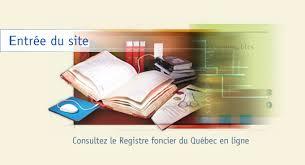 bureau registre des entreprises registre foncier du québec en ligne